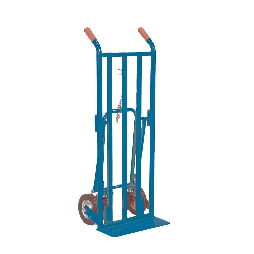 Red 3 Position Handtruck (250kg Capacity, Platform L1115 x W470mm) 354877
