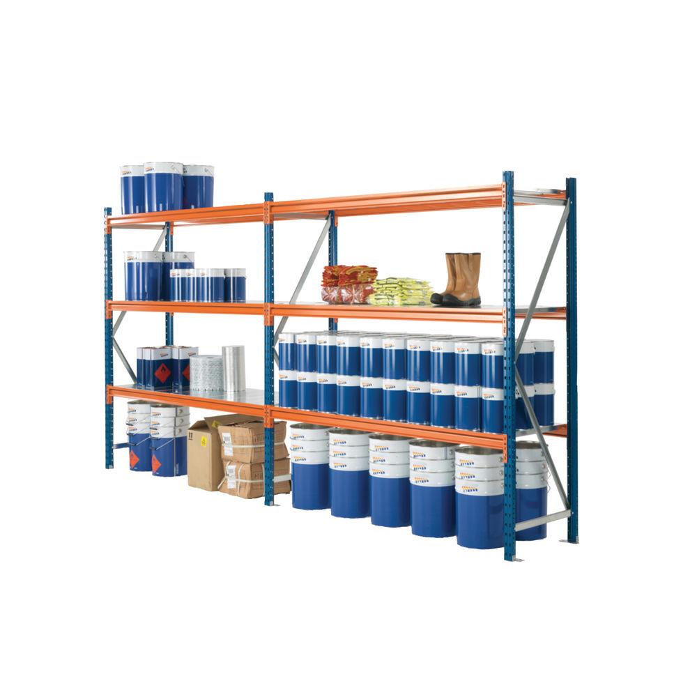 H2000 x D600mm Blue Fully Assembled Quickspan Frame - 379823