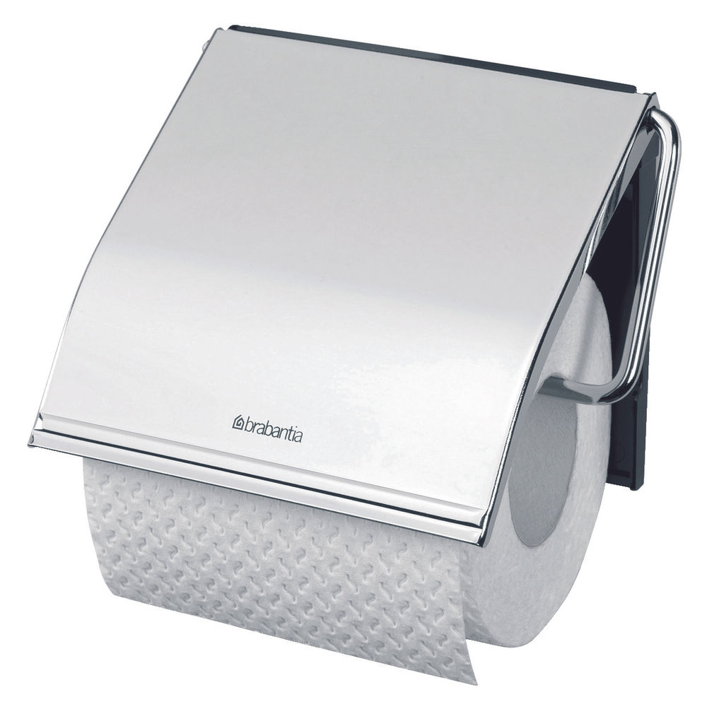 Classic Toilet Roll Holder Steel 383199