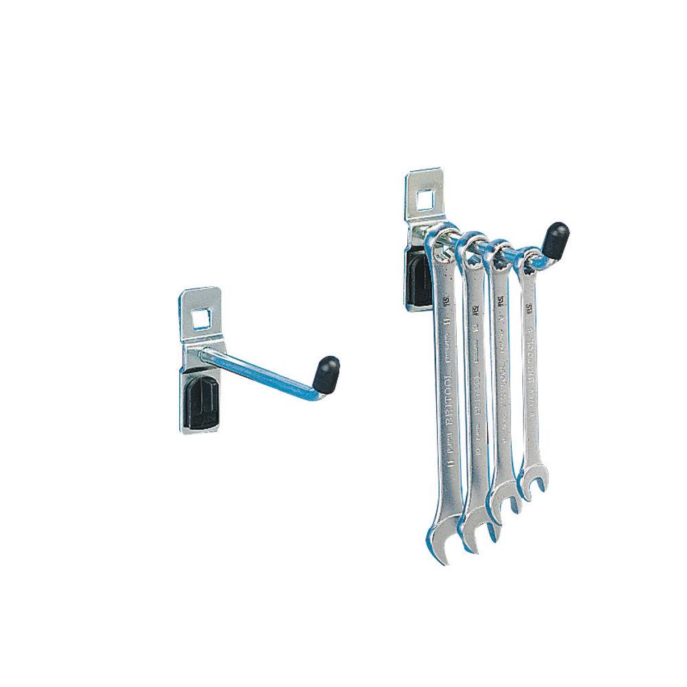 VFM Perfo System Single Tool Hook 50mm (Pack of 5) 306965