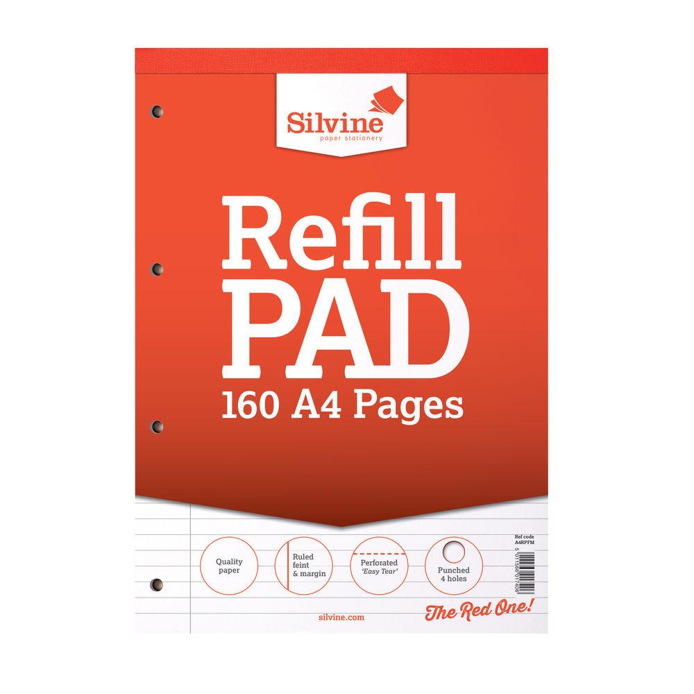 Silvine Headbound A4 Memo Pads - Pack of 6 - A4RPFM