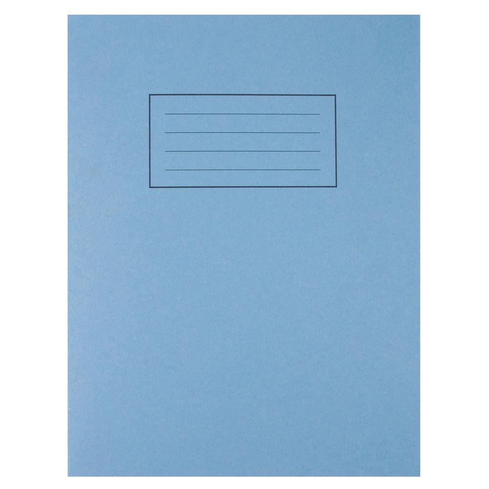 "Silvine Blue 9 x 7"" Exercise Books, Pack of 10 - EX104"