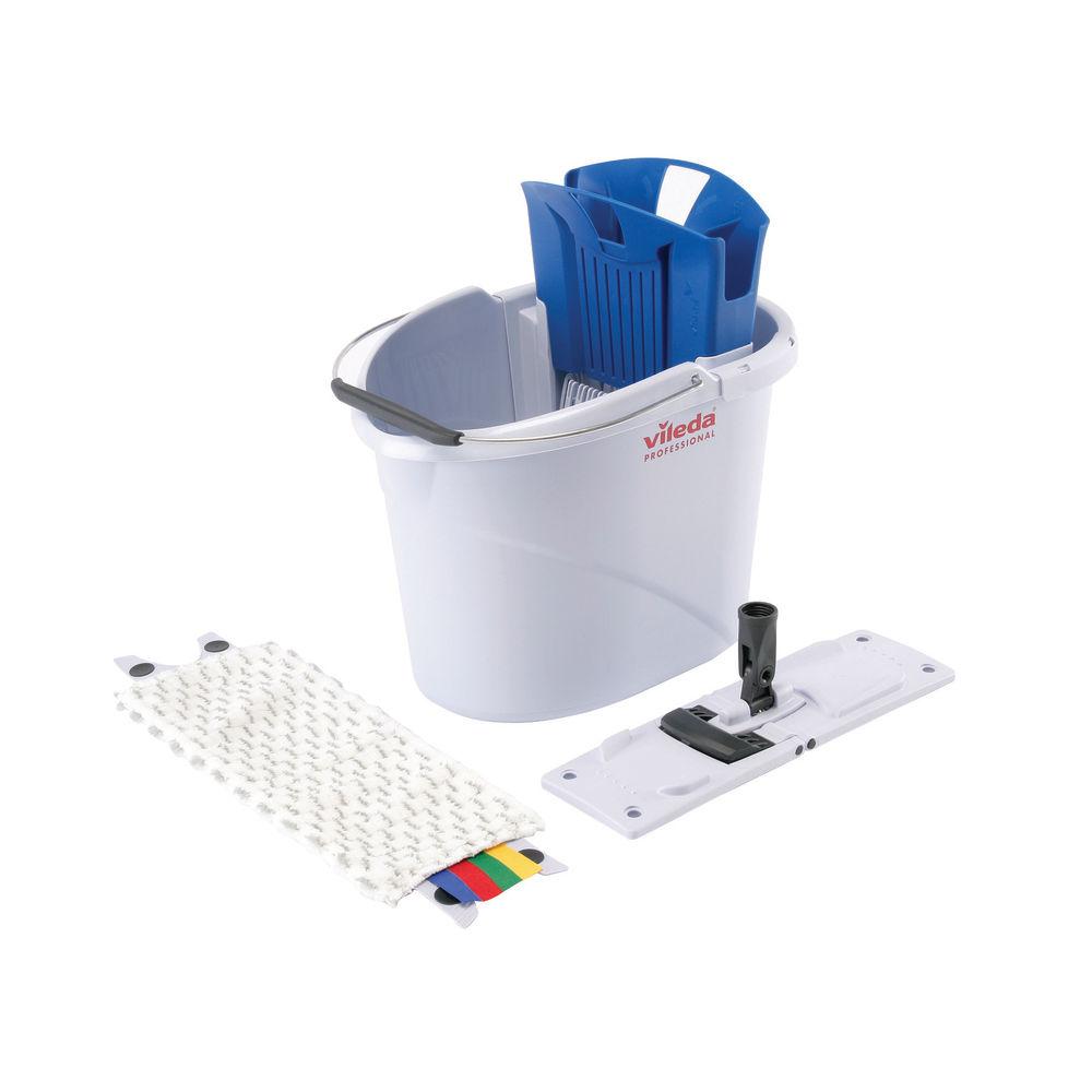 Vileda UltraSpeed Blue Mini 10 Litre Starter Kit - 129672