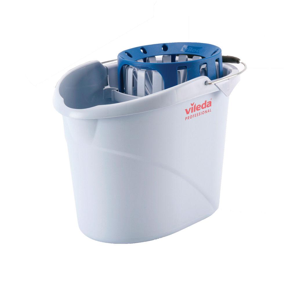 Vileda Blue Supermop Bucket and Wringer - 138924
