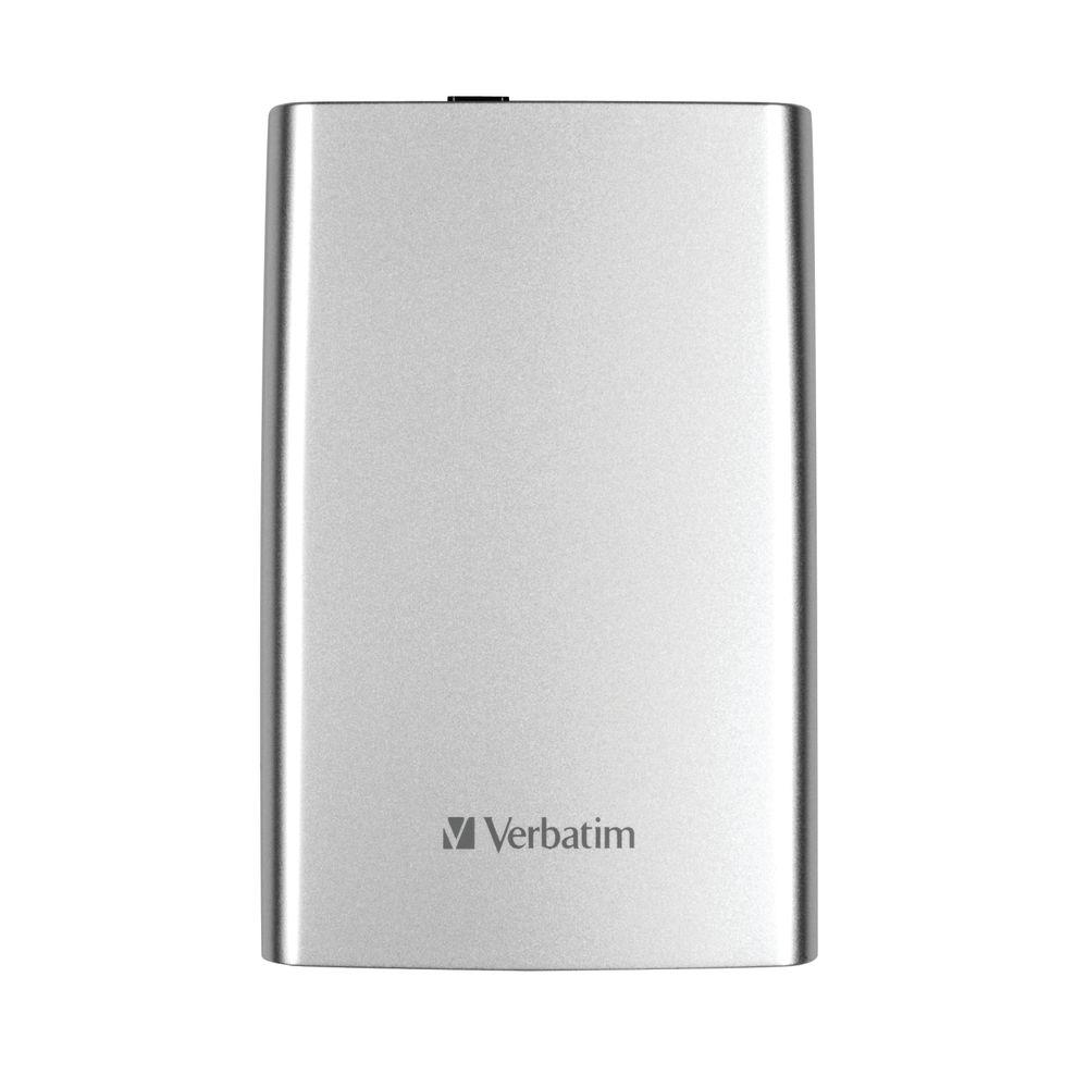 Verbatim Store n Go Portable HDD USB 3.0 1TB Silver 53071