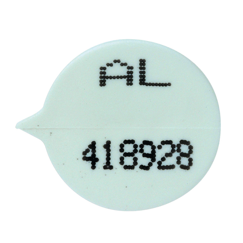 Go Secure White Numbered Security Seals, Pack of 500 - 50523X