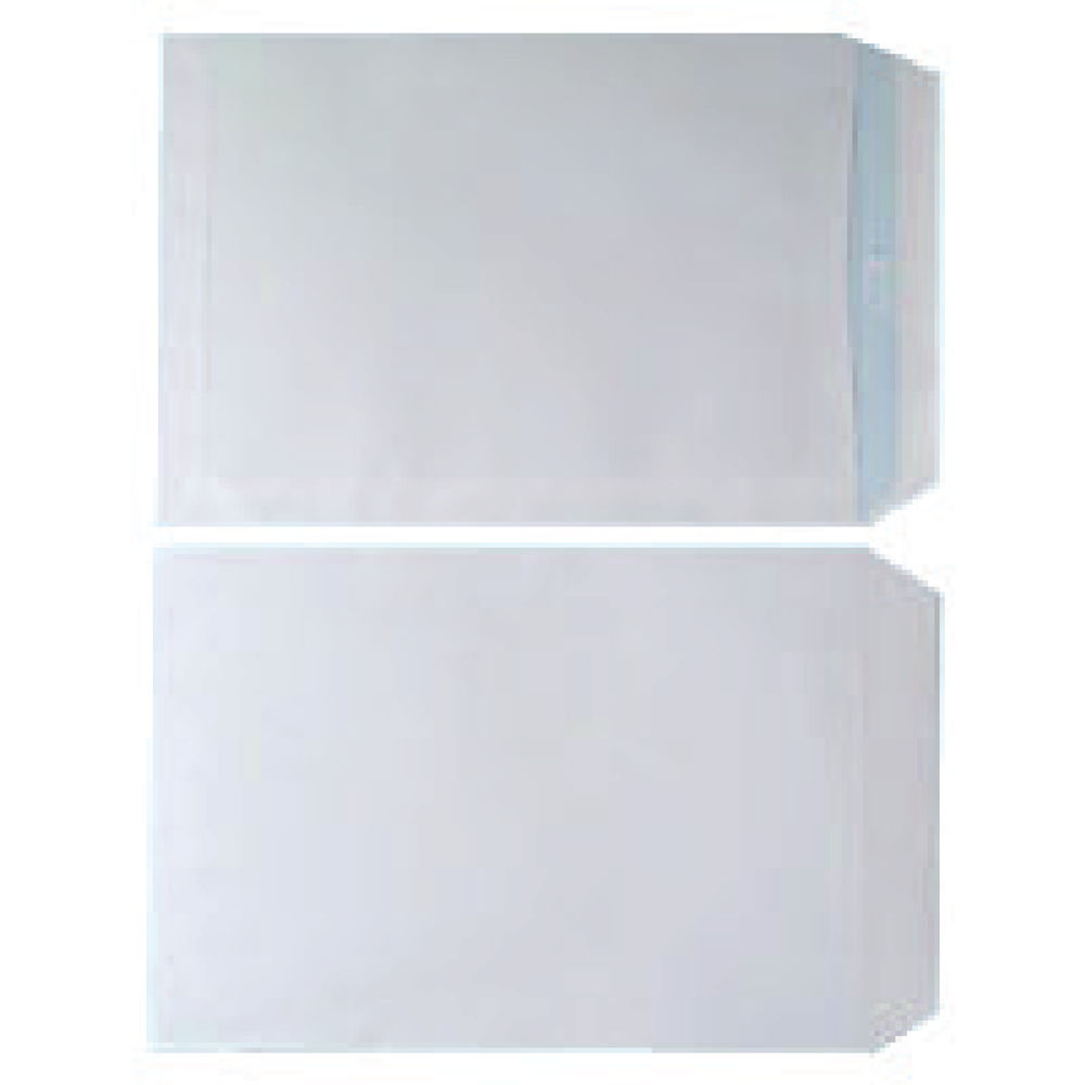 White C4 Self Seal Envelopes 90gsm, Pack of 250 - WX3499