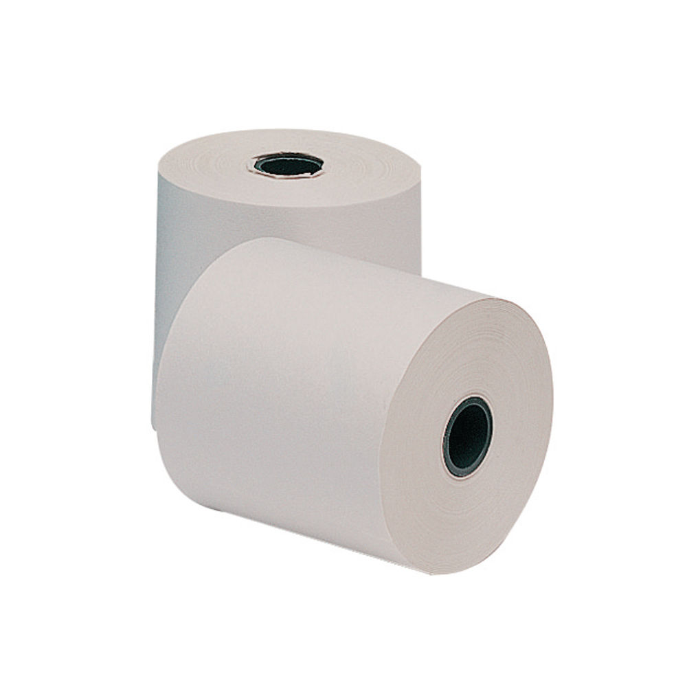 3-Ply 76 x 76mm Till Paper Rolls, Pack of 20 - AD3767612