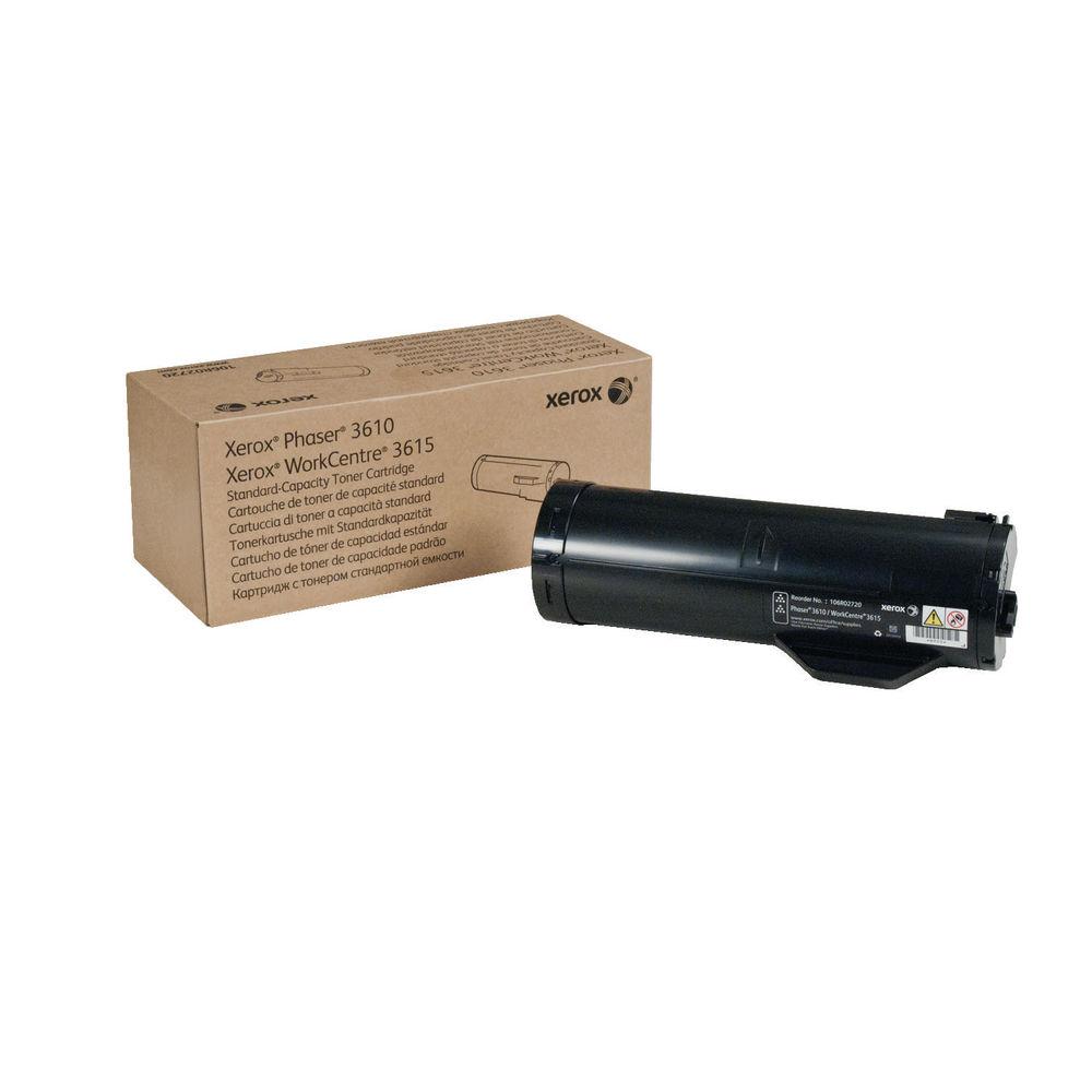 Xerox Phaser 3610 Black Toner Cartridge - 106R02720