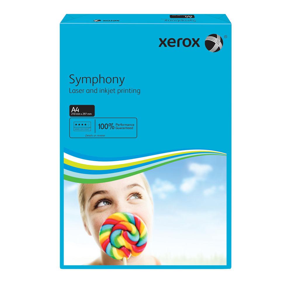 Xerox Symphony Dark Blue A4 Paper 80gsm - Pack of 500 - 62882