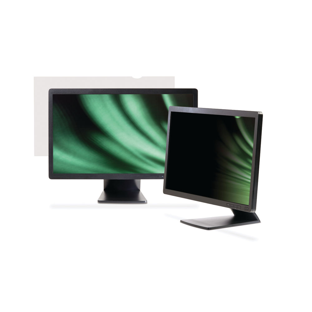 3M Desktop Monitor Frameless 23in Widescreen Privacy Filter PF23.0W9