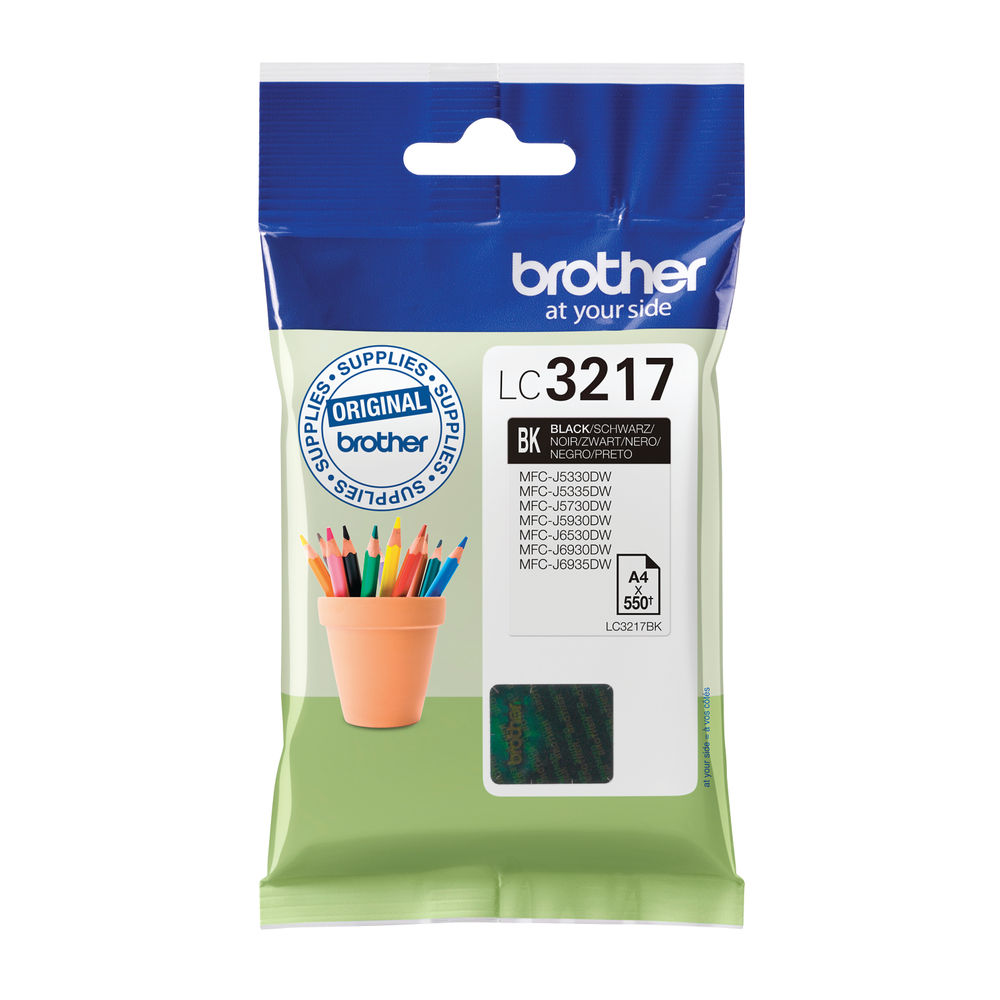 Brother Black Ink Cartridge LC3217BK