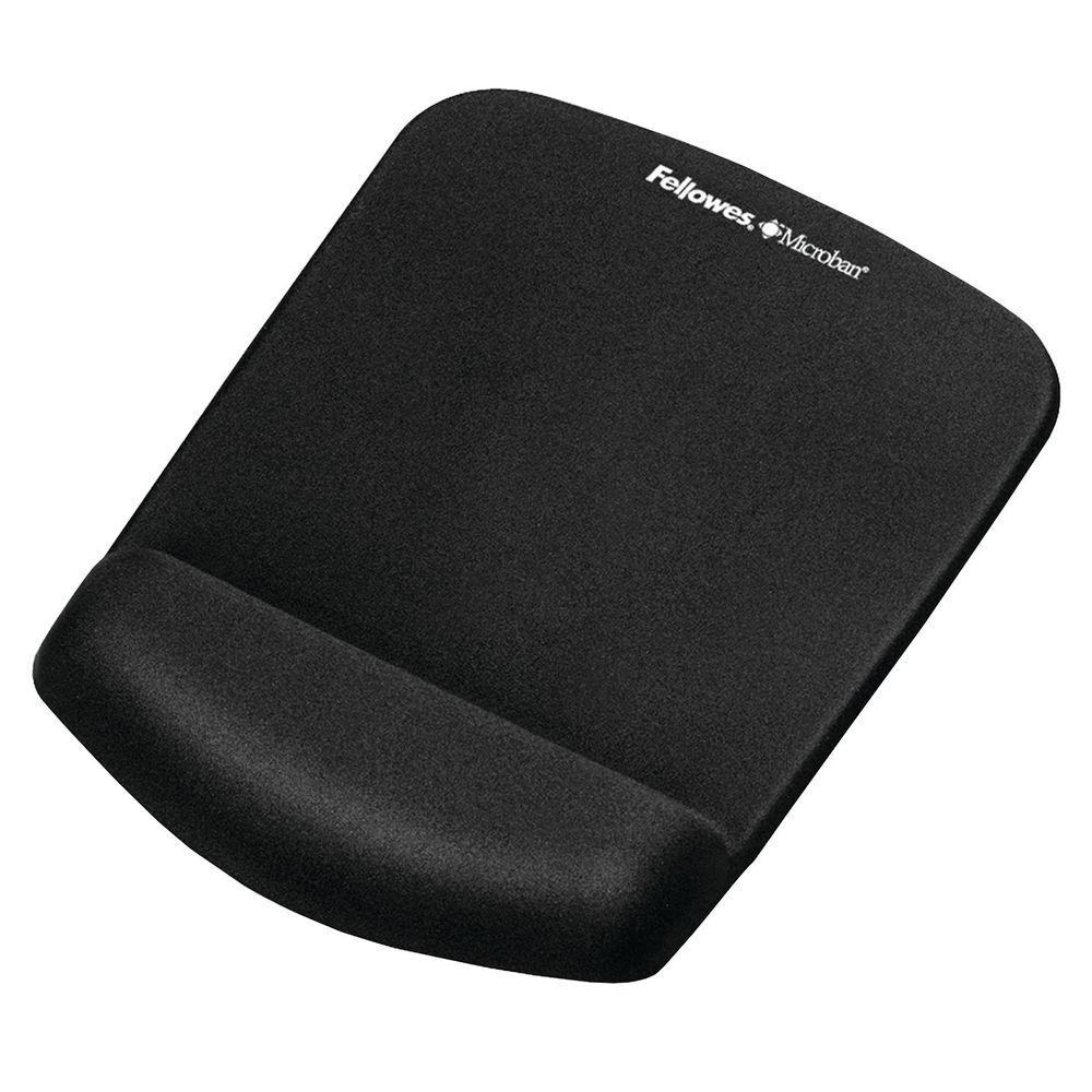 Fellowes PlushTouch Mouse Pad Black 9252003