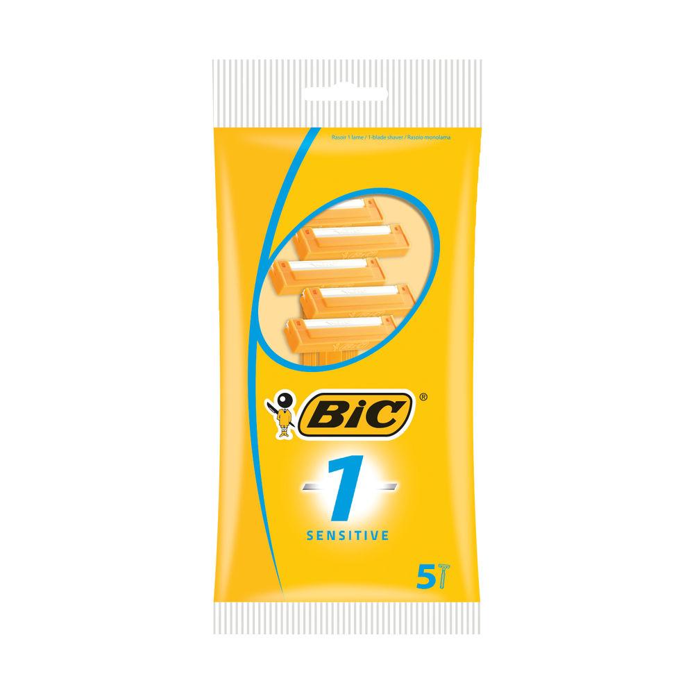Bic 1 Sensitive Single Blade Shavers (Pack of 200) 838521