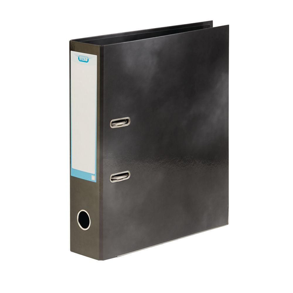 Elba Classy Black A4 Lever Arch File 70mm - 400020889