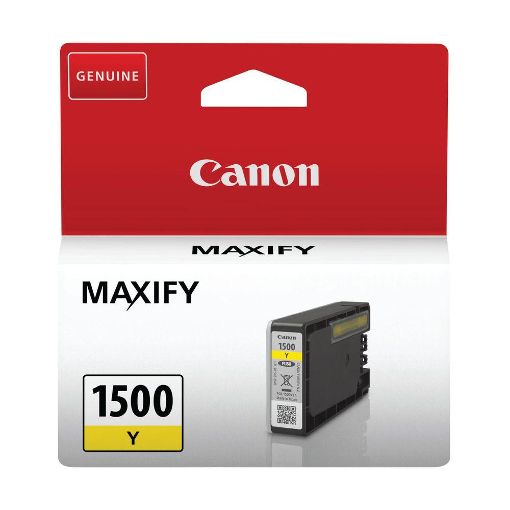 Canon PGI-1500Y Yellow Ink Cartridge - 9231B001