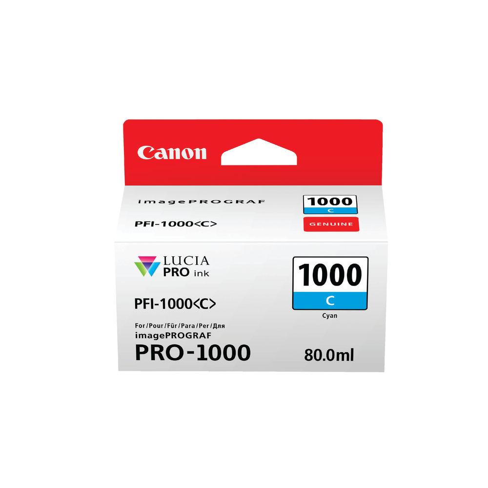 Canon Pro-1000 Cyan Ink Tank 0547C001
