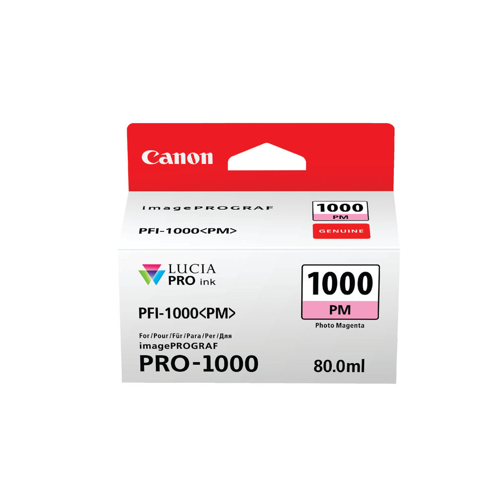 Canon Pro-1000 Photo Magenta Ink Tank 0551C001