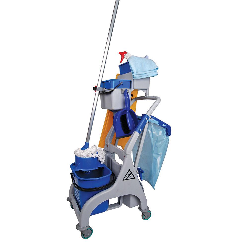 Socket Mop Quick Response Trolley - 101355