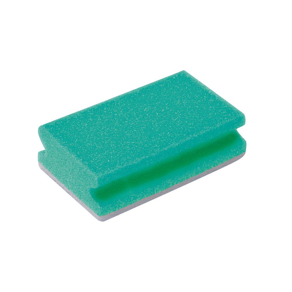Green Finger Grip Scourers, Pack of 10 - 102422G