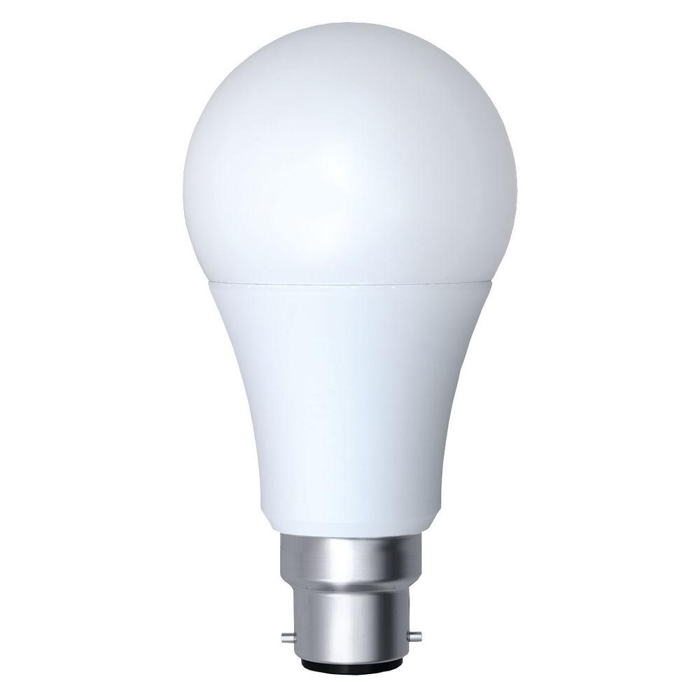 CED 12W Opal Dimmable LED Lamp B22 White PBC12WW/DIM