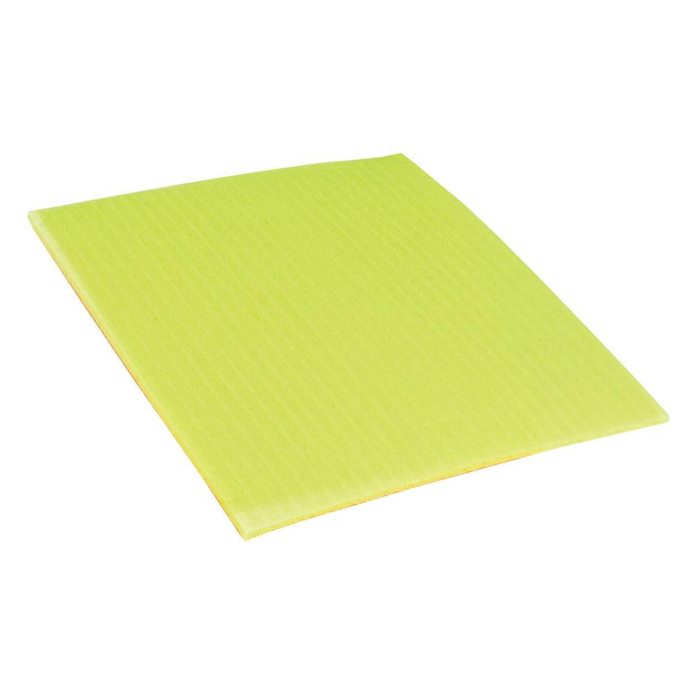 Ecotech Sponge Cloths 200x180mm Yellow (Pack of 10) SC100