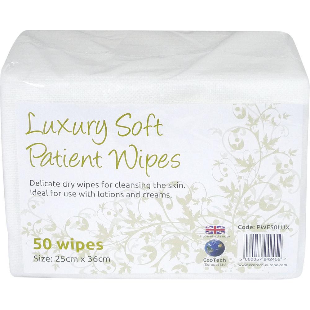 EcoTech Luxury Soft Patient Wipes - PWF2000LUX