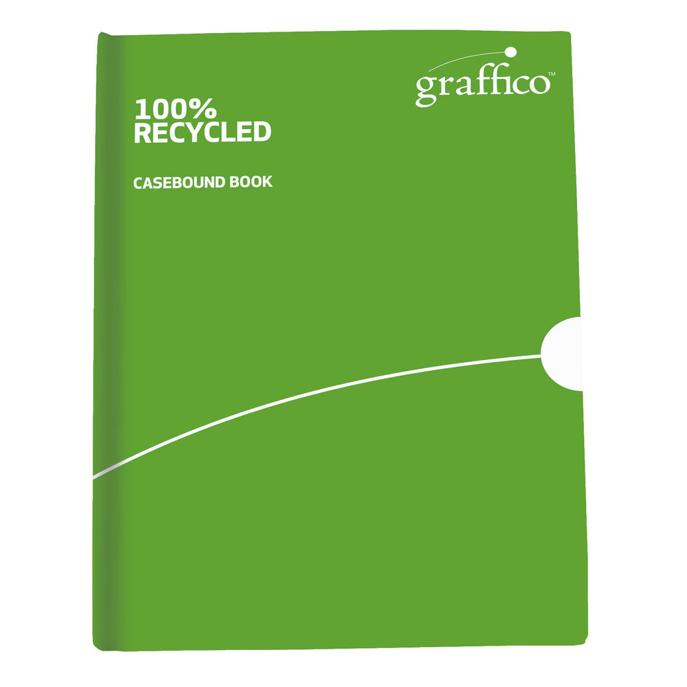 Graffico A4 Recycled Casebound Notebook - 9100032