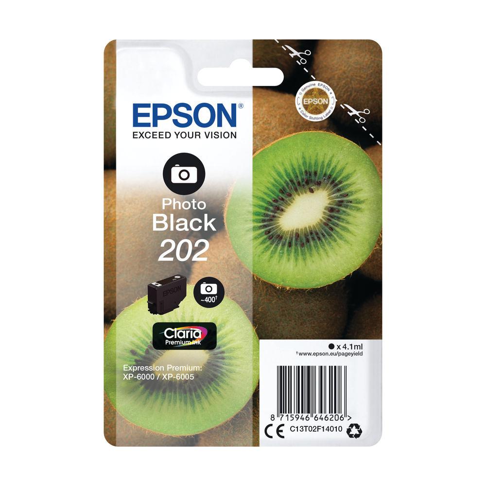 Epson 202 Photo Black Ink Cartridge - C13T02F14010