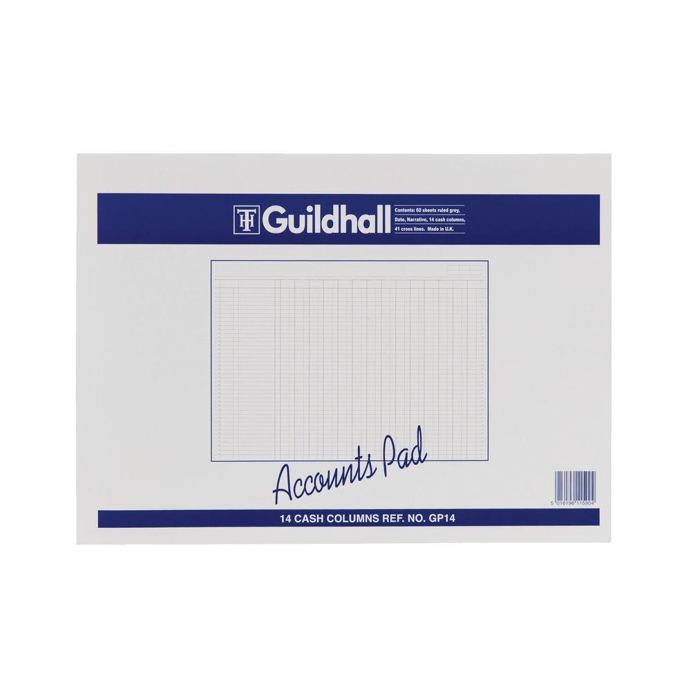 Guildhall 14 Cash Columns Account Pad - 1590