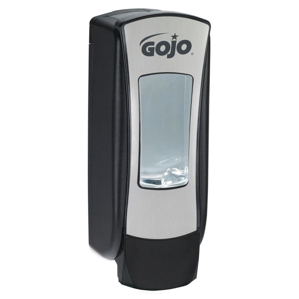 Gojo ADX-12 Manual Hand Wash Dispenser Black/Chrome 8888-06