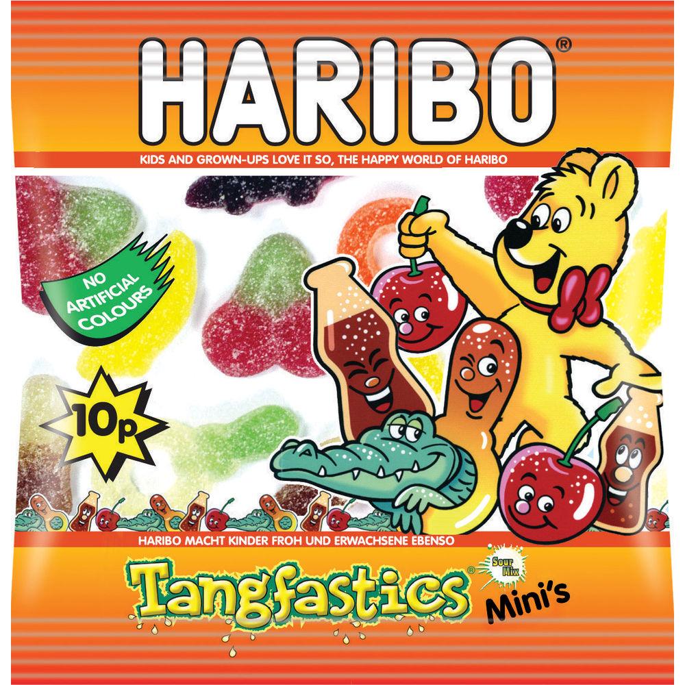 Haribo Tangfastics 16g Mini Bag (Pack of 100) - 73142