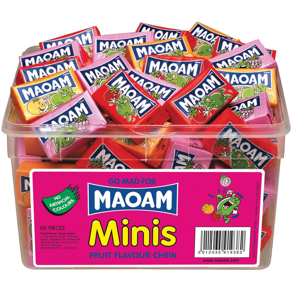 Haribo Maoam Minis Tub (40 Sweets) - 50547
