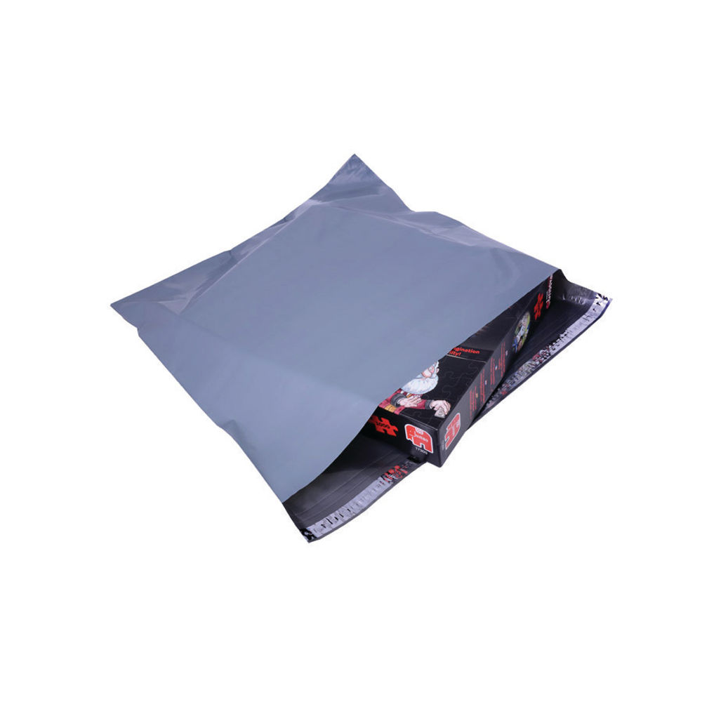 Polythene Mailing Bag 460x430mm Opaque Grey (Pack of 500) HF20223