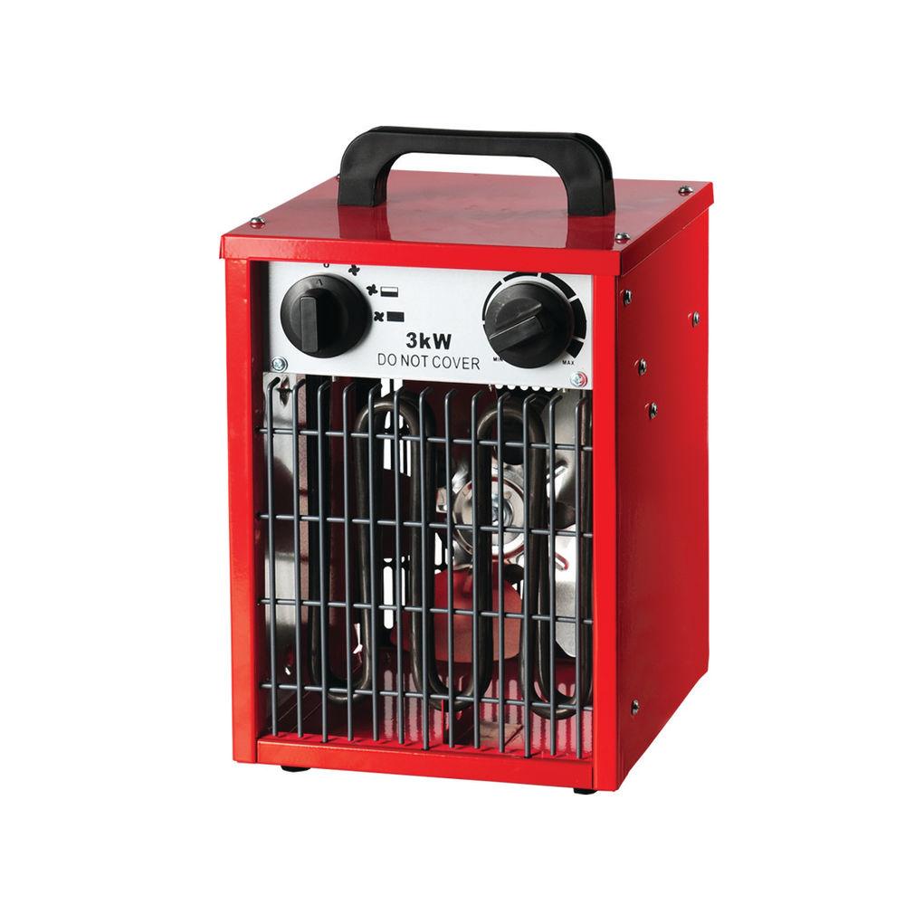 3kW Industrial Fan Heater 42420