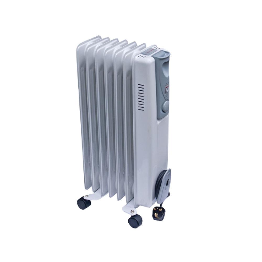 1.5kW Oil-Filled Radiator White CRHOFSL7/H 42690
