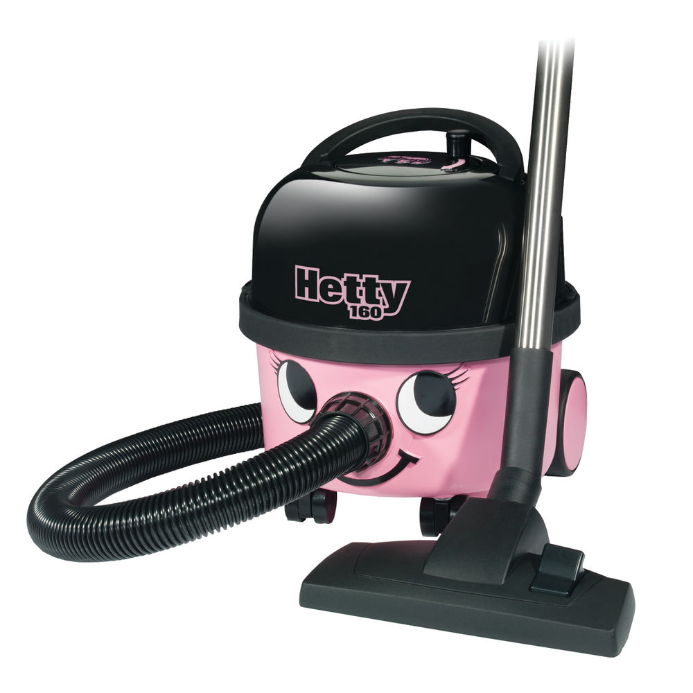 Numatic Pink Hetty Compact Vacuum Cleaner HET160-11 - 902289