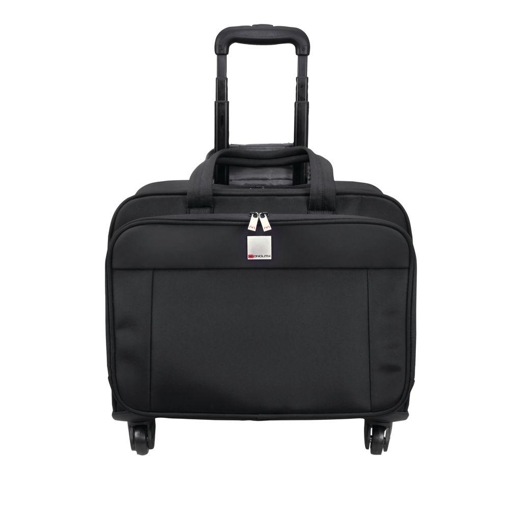 Monolith Black Motion II 4 Wheel Laptop Trolley Case - 3208