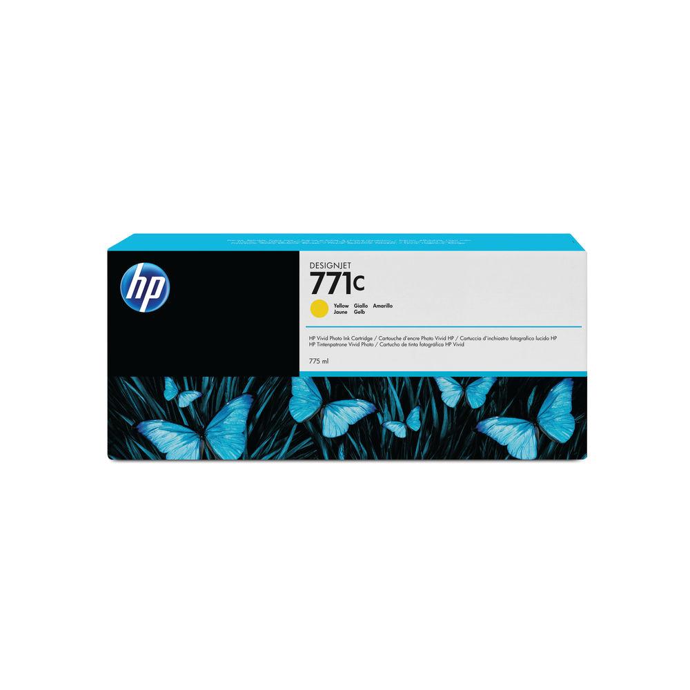 HP 771C Yellow Ink Cartridge - B6Y10A
