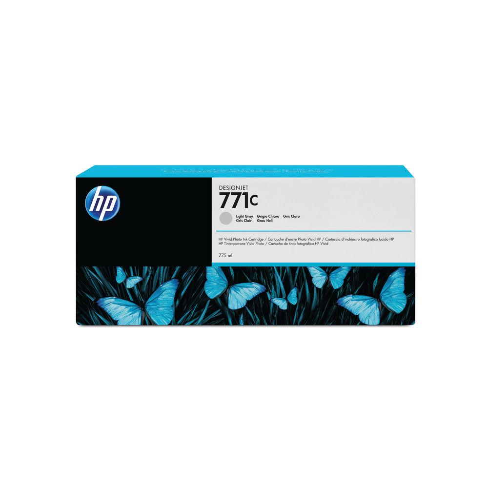 HP 771C Light Grey Ink Cartridge - B6Y14A