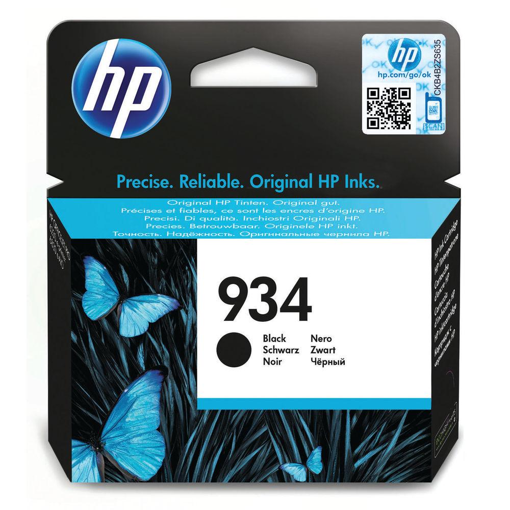 HP 934 Black Ink Cartridge | C2P19AE