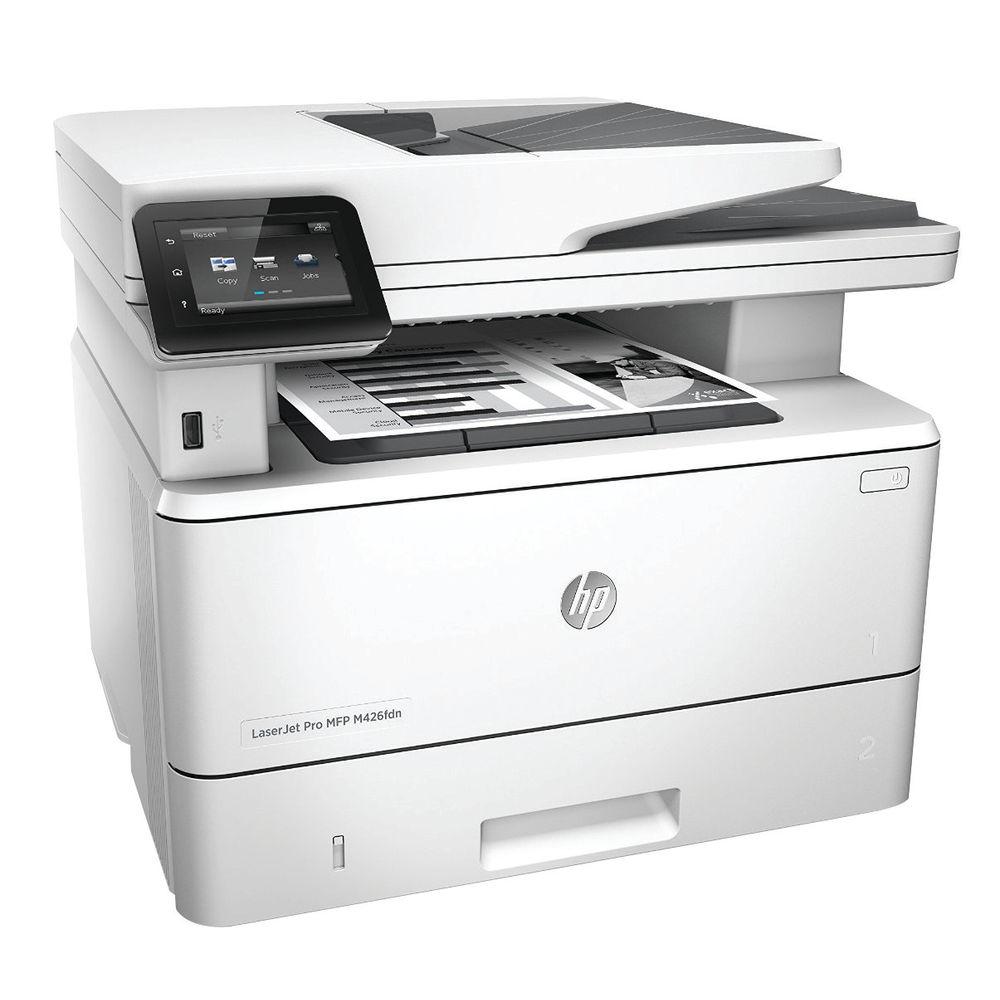 HP Laserjet Pro Multifunctional M426fdn Printer F6W14A#B19