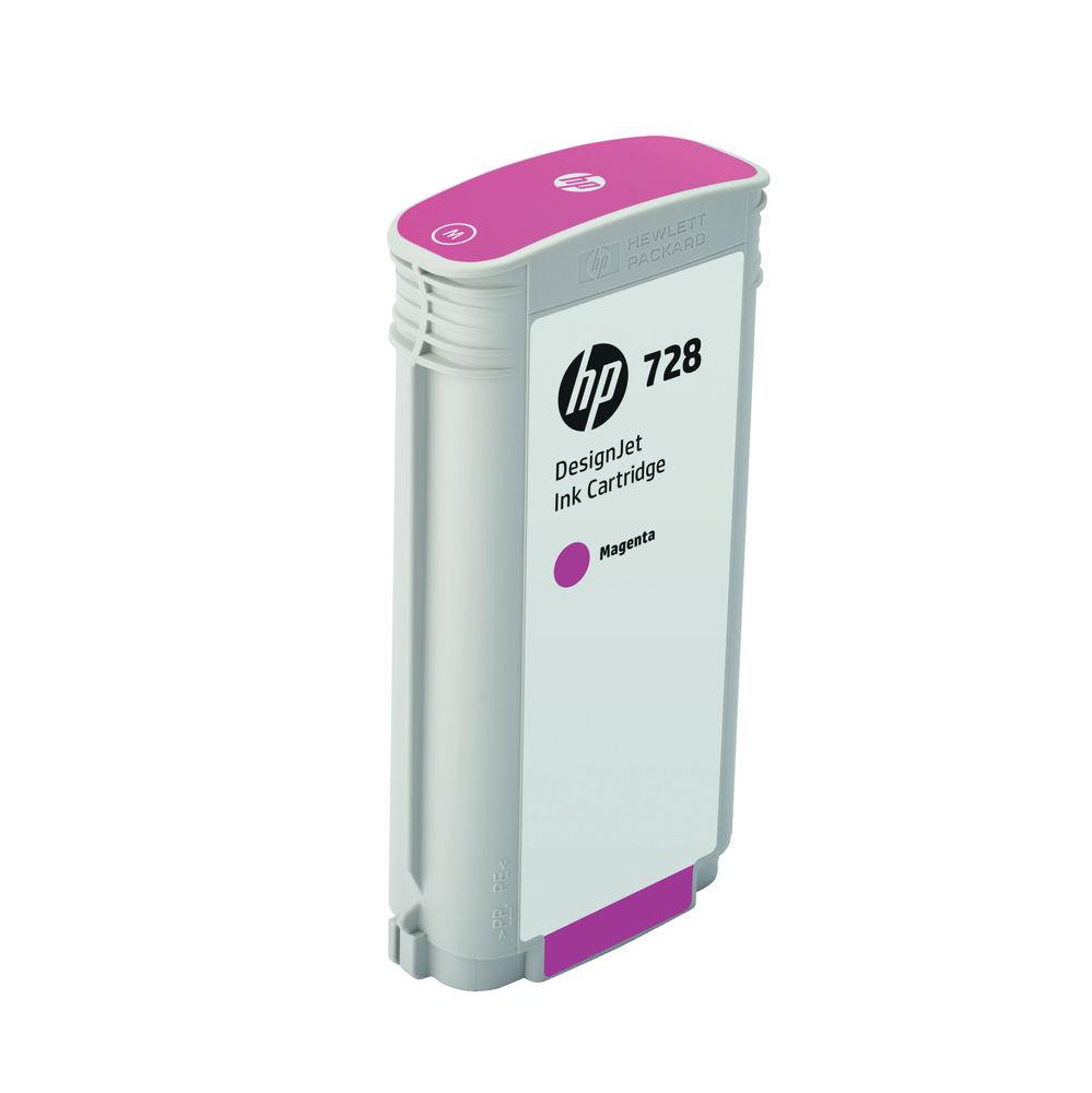 HP 728 Magenta Ink Cartridge - High Capacity F9J66A