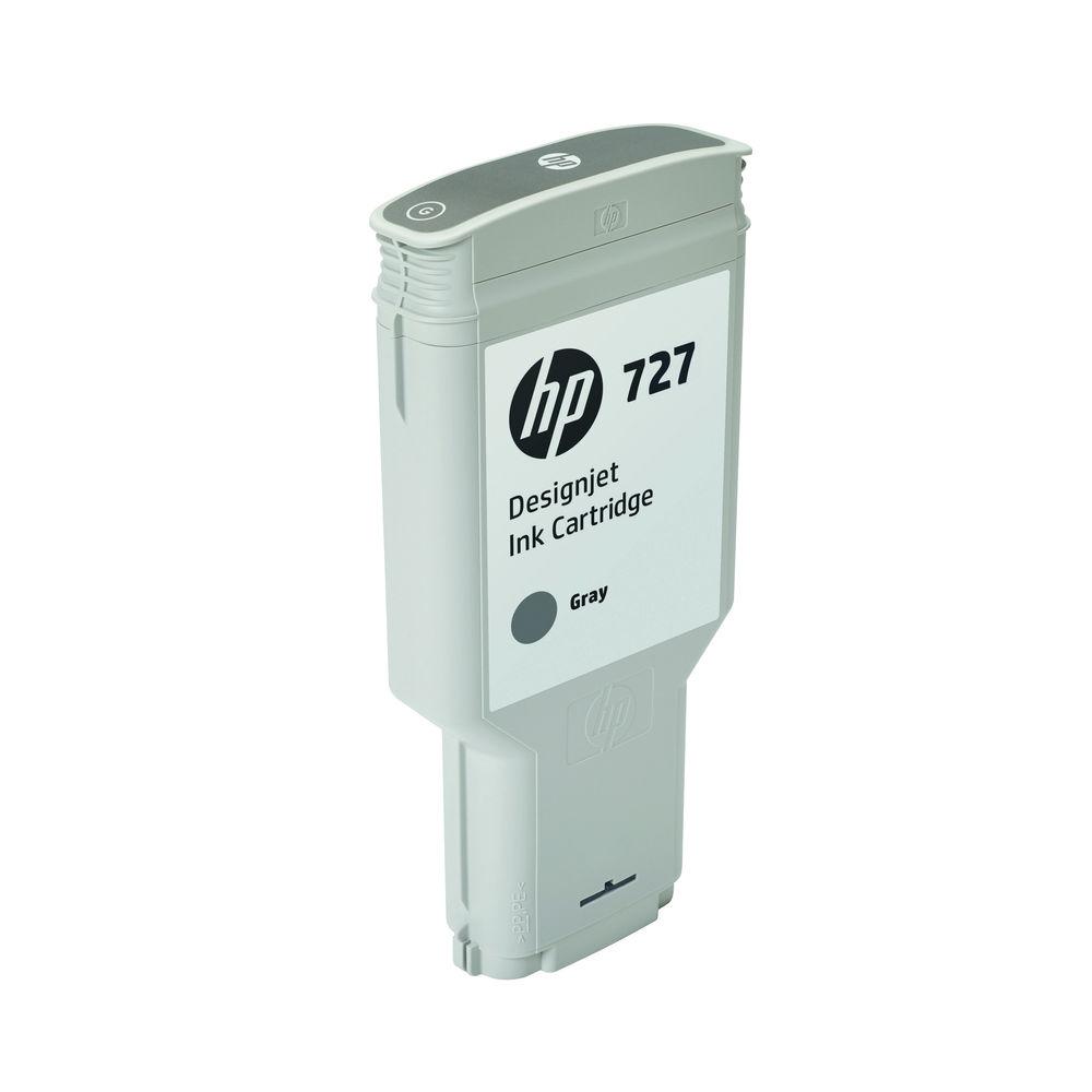 HP 727 Grey Ink Cartridge - F9J80A