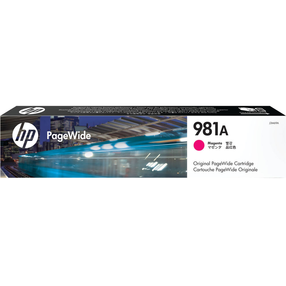 HP 981A PageWide Ink Magenta Cartridge J3M69A