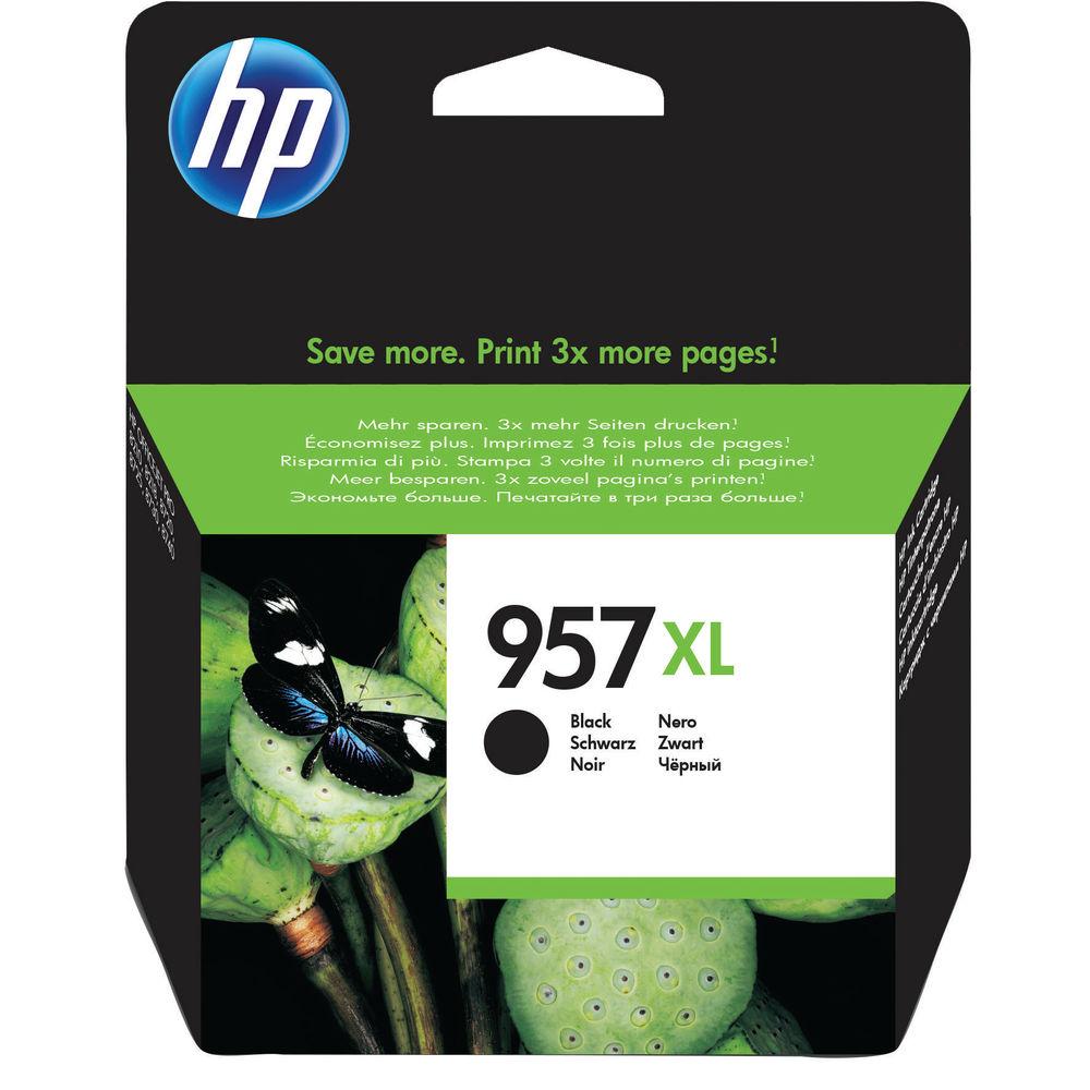 HP 957 XL High Capacity Black Ink Cartridge - L0R40AE