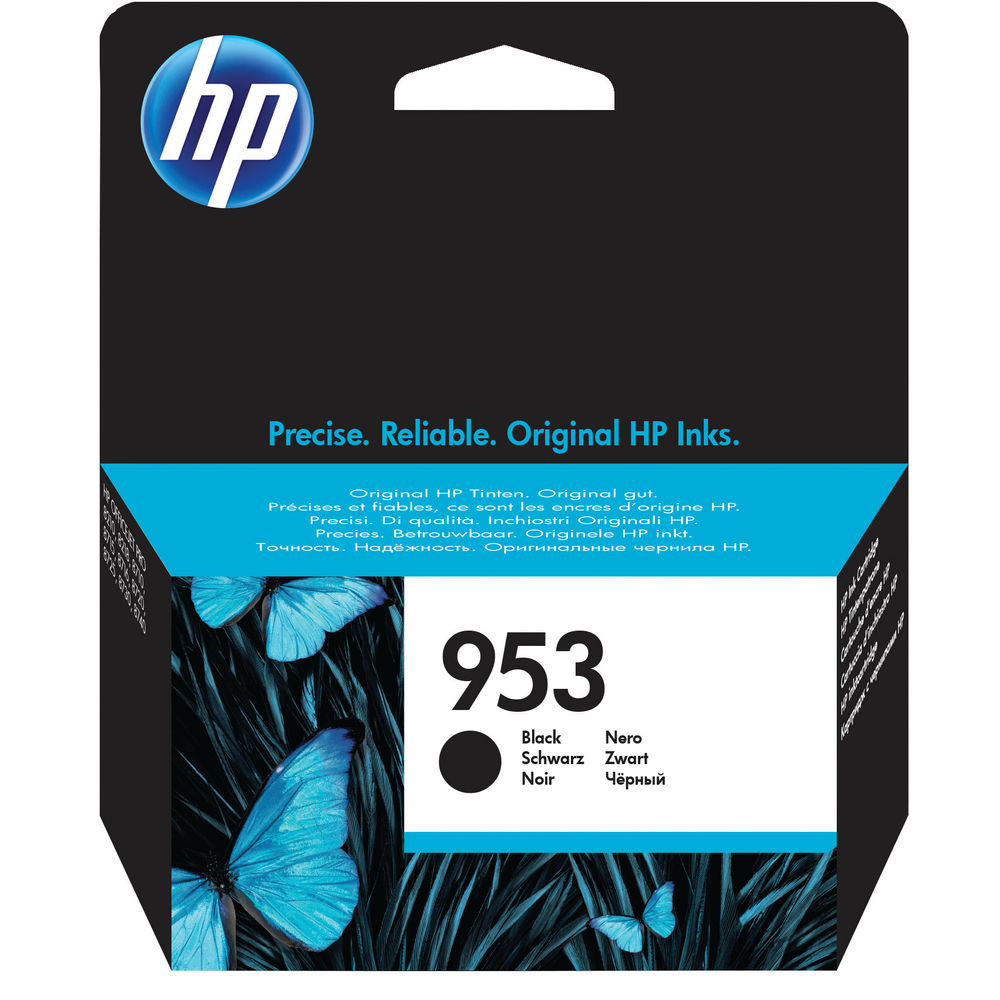 HP 953 Black Ink Cartridge - L0S58AE#BGX