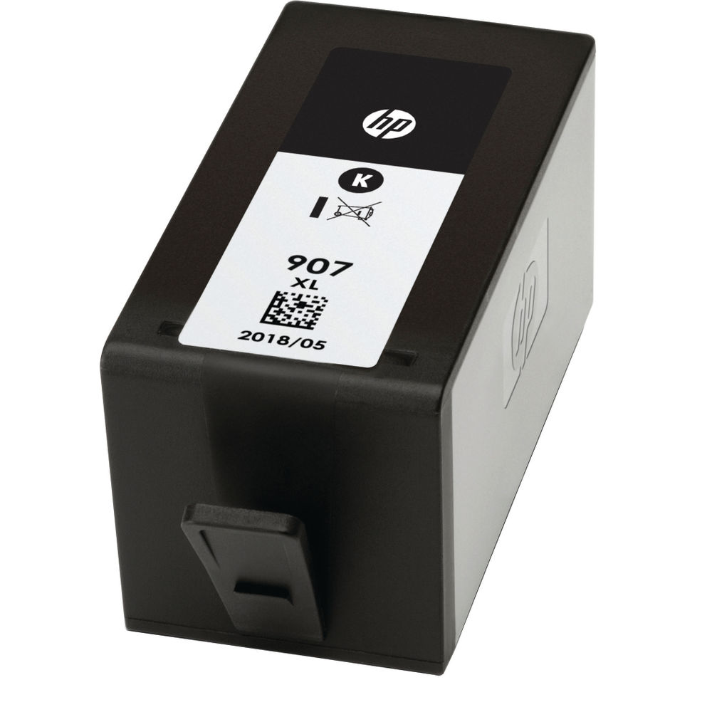 HP 907XL Extra High Capacity Black Ink Cartridge - T6M19AE