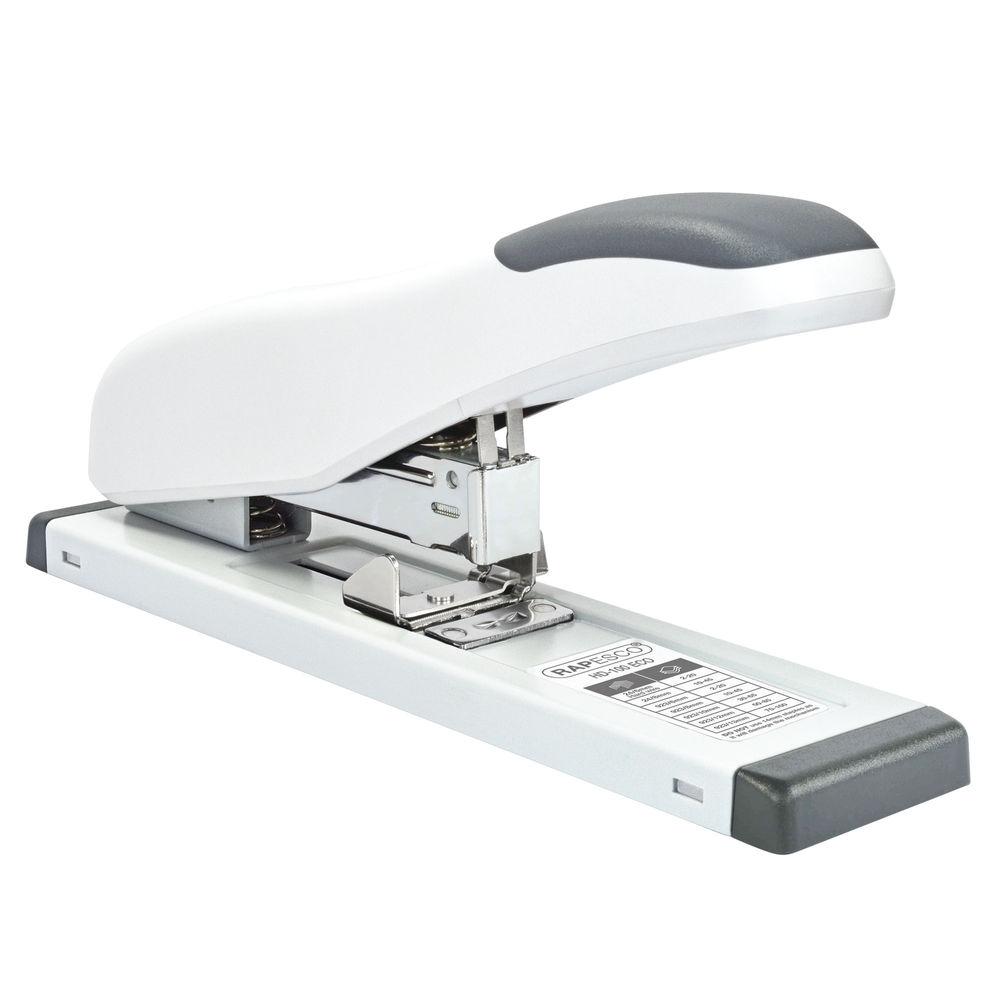 Rapesco Soft White ECO HD-100 Heavy Duty Stapler - 1386