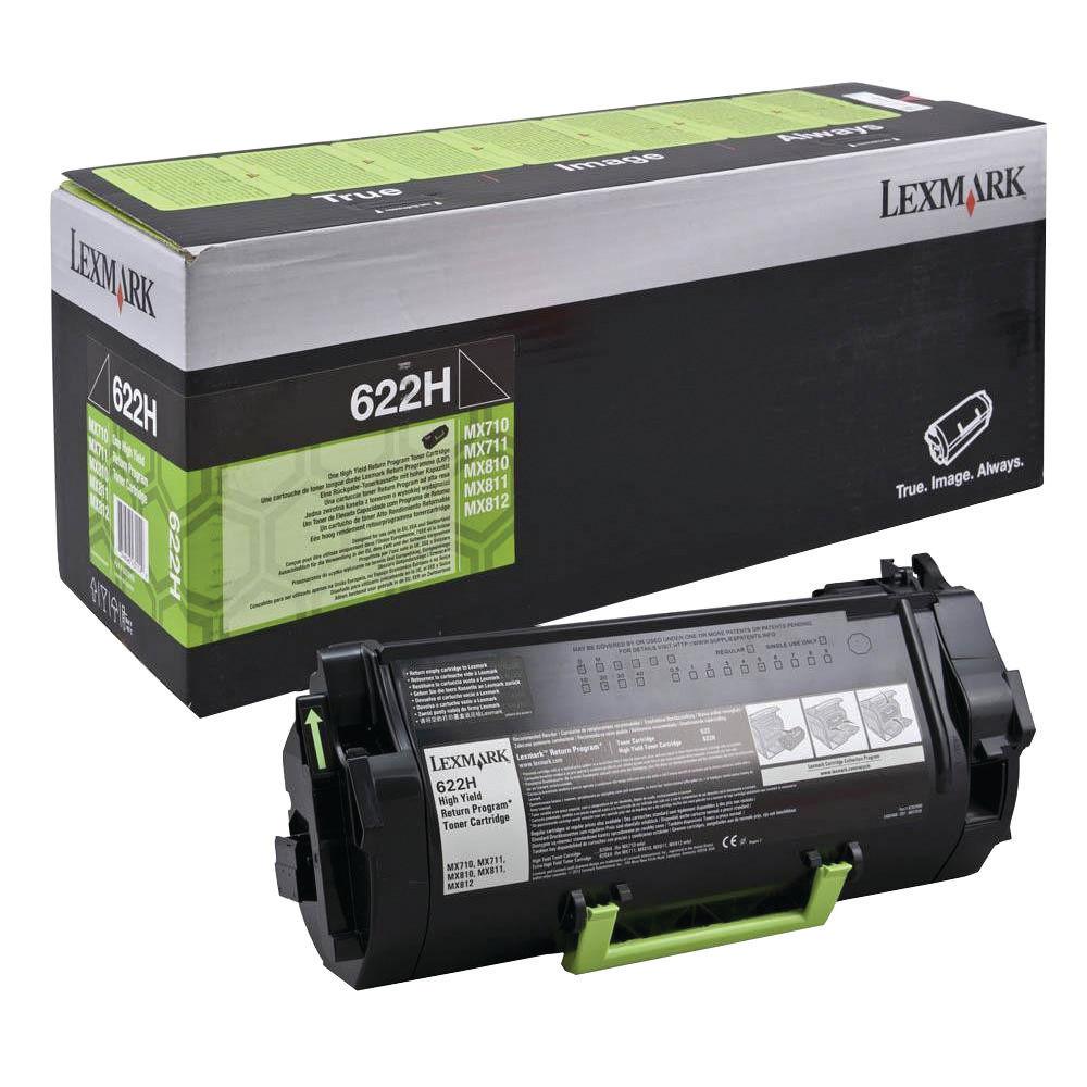 Lexmark 622HE Black High Yield Return Programme Toner 62D2H0E